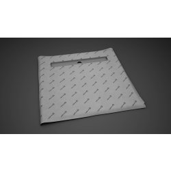 Default Category SensoDays Kit rigola de dus Radaway RadaDrain 80x80cm, placare 8-12mm