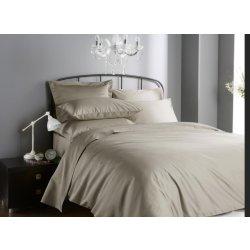 Seturi lenjerii Lenjerie de pat Behrens Hotel Living 1000TC 200x200cm, 2 fete perna 50x75cm, Flax