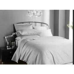 Seturi lenjerii Lenjerie de pat Behrens Hotel Living 200x200cm, 2 fete perna 50x75cm, 1000TC, Ice Grey