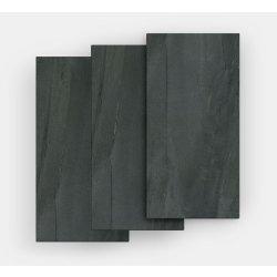 Gresie Gresie portelanata FMG Pietre Maxfine 100x100cm, 6mm, Lavica Black Naturale