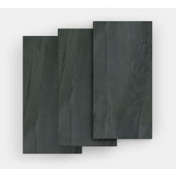 Gresie Gresie portelanata FMG Pietre Maxfine 150x100cm, 6mm, Lavica Black Naturale
