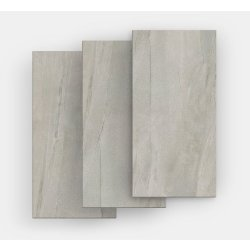 Gresie Gresie portelanata FMG Pietre Maxfine 100x100cm, 6mm, Lavica Grey Naturale