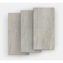 Gresie Gresie portelanata FMG Pietre Maxfine 150x100cm, 6mm, Lavica Grey Naturale