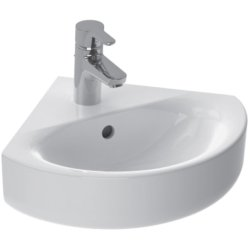Lavoar de colt Ideal Standard Connect Space Arc 48x44cm