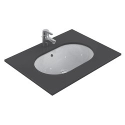 Obiecte sanitare Lavoar Ideal Standard Connect Oval 55x38cm, montare sub blat