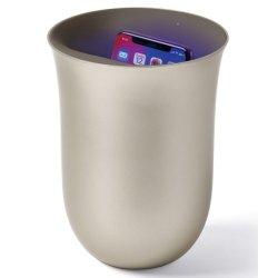 Default Category SensoDays Lexon Oblio statie dezinfectare & incarcare wireless pentru telefoane, auriu
