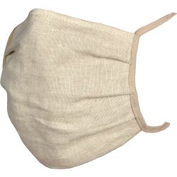 Decoratiuni  Masca de protectie Sander Linnen, in, nisipiu