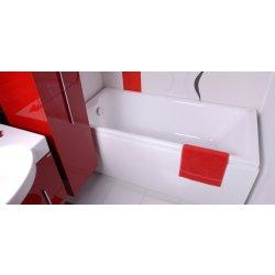 Cada baie rectangulara Belform Ludica 170x70cm, acril