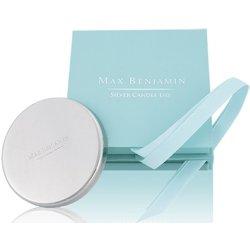 Suporturi lumanari Capac pentru lumanare parfumata Max Benjamin Silver, GiftBox