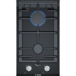 Default Category SensoDays Plita gaz incorporabila Bosch Domino PRB3A6D70 Serie 8, FlameSelect, 30cm, vitroceramica, 2 arzatoare, gratare fonta, negru