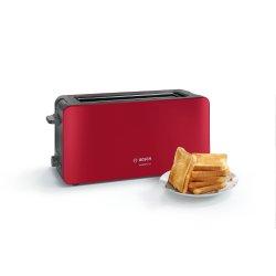 Electrocasnice mici Prajitor de paine Bosch TAT6A004 ComfortLine, rosu
