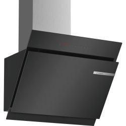 Hote Hota decorativa Bosch DWK67JQ60 Serie 6, 60 cm, 730 mc/h intensiv, sticla neagra