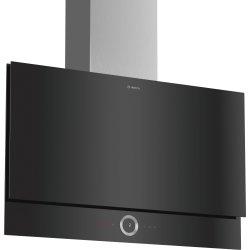 Hote Hota decorativa Bosch DWF97RV60 Seria 8, design vertical, Home Connect, 90cm, max 730 mc/h, negru