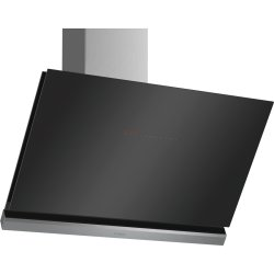 Hote Hota decorativa Bosch DWK98PR60 Seria 8, design inclinat, Home Connect, 90cm, max 840 mc/h, negru