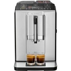 Electrocasnice mici Espressor automat Bosch TIS30321RW VeroCup 300, 15 bari, rasnita ceramica, MilkMagic Pro, calc'nClean, argintiu