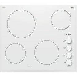 Default Category SensoDays Plita vitroceramica incorporabila Bosch PKE652CA1E Serie 2, U-facette, 60cm, 4 zone, alb