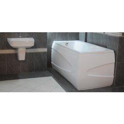 Cazi de baie simple Cada baie rectangulara Belform Menses 156x75cm, acril