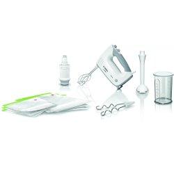 Mixere - Blendere Mixer cu vacuum Bosch MFQ364V0 ErgoMixx, 450W, alb