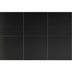 Placari & Pardoseli Faianta Diesel living Fence 20x20cm, 7mm, Micro Black