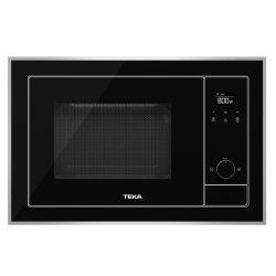 Electrocasnice mari Cuptor cu microunde incorporabil Teka ML 820 BIS 18 litri, 700W, interior inox, grill 1000W, Inox antipata/cristal negru