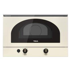 Electrocasnice mari Cuptor cu microunde incorporabil Teka MWR 22 VN 850W, 22 litri, baza ceramica, Vanilla Rustic