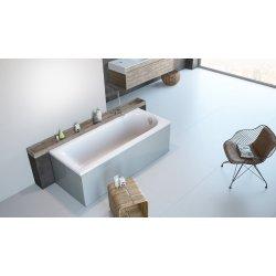 Cazi de baie simple Cada complet echipata Radaway Nea 160x70cm, acril, echipata cu picioare, panouri si sifon