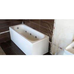 Cazi de baie simple Cada baie rectangulara Belform Nordica 180x70cm, acril