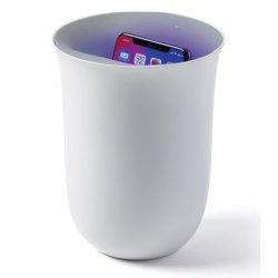 Default Category SensoDays Lexon Oblio statie dezinfectare & incarcare wireless pentru telefoane, alb