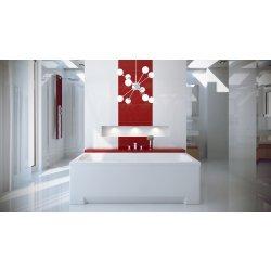 Cazi de baie simple Cada baie rectangulara Besco Optima 160x70cm, acril