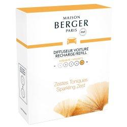 Lumanari & Parfumuri ambient Rezerve ceramice odorizant masina Berger Aroma Energy Zestes toniques 2 piese