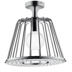 Sisteme de dus Palarie dus cu lampa LED Hansgrohe Axor Nendo, prindere tavan