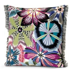 Textile decorative Perna decorativa Missoni Passiflora 40x40cm, culoare T50