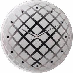 Default Category SensoDays Ceas de perete NeXtime Pendula Round 43cm, Silver