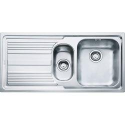 Chiuvete bucatarie Chiuveta bucatarie Franke Logica Line LLX 651 slim, picurator stanga, 1000x500mm, inox satinat