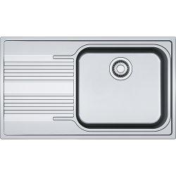 Chiuvete bucatarie Chiuveta bucatarie Franke Smart SRX 611-86 LB, slim, picurator stanga, 860x500mm, inox lucios