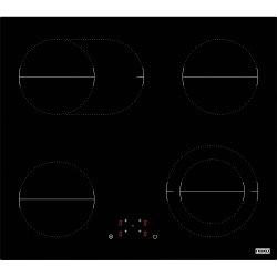 Electrocasnice mari Plita electrica incorporabila Franke FHR 604 C TOD BK, 4 zone, 60 cm, Vitroceramica, Glass Black