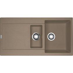 Chiuvete compozit Chiuveta bucatarie fragranite Franke Maris MRG 651 reversibila, 970x500mm, tehnologie Sanitized Oyster