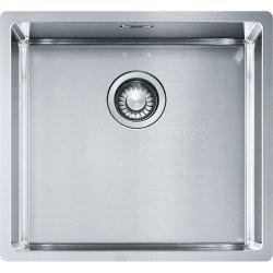 Chiuvete bucatarie Chiuveta bucatarie Franke Box BBX 210/110-45 cu 1 cuva, 450x410mm, ventil Premium, inox satinat