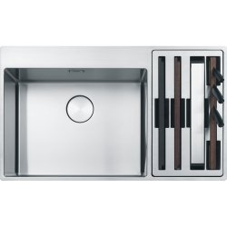 Chiuvete inox Chiuveta Franke Box Center BWX 220-54-27 dreapta, 860x510mm, inox satinat