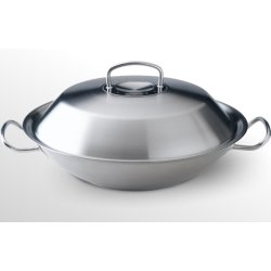 Default Category SensoDays Tigaie tip Wok cu capac inox Fissler Original-Pro Collection 35 cm