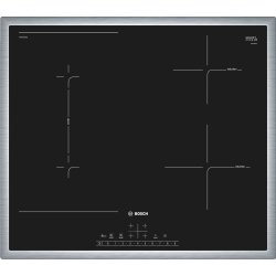 Default Category SensoDays Plita inductie incorporabila Bosch PVS645FB5E Serie 6, 60cm, 4 zone, rama decor, negru