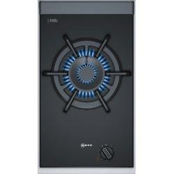 Electrocasnice mari Plita gaz incorporabila Neff Line N23TA19N0 Domino, 30 cm, FlameSelect, 1 arzator wok dublu, gratar fonta, rama inox