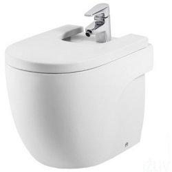 Obiecte sanitare Bideu pe pardoseala Roca Meridian compact