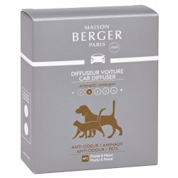 Odorizante auto Rezerve ceramice odorizant masina Berger Animals 2 piese