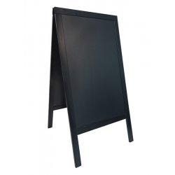 Default Category SensoDays Tabla de scris pentru afisaj stradal Securit Duplo 125x69x56.5cm cu rama lemn pin, negru