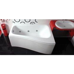 Cazi de baie simple Cada baie asimetrica Belform Senso 150x100x70cm, acril, orientare dreapta