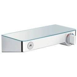 Baterii dus Baterie dus termostatata Hansgrohe ShowerTablet Select 300 alb/crom