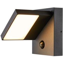 Default Category SensoDays Aplica exterior SLV Abridor Sensor, LED 14W, senzor miscare, IP55, antracit