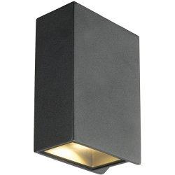 Iluminat exterior Aplica exterior SLV Quad 2 XL, LED 8W, IP44, antracit