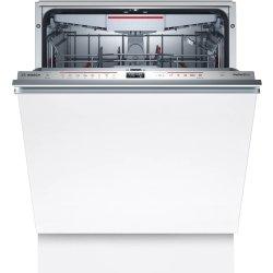 Masini de spalat vase Masina de spalat vase incorporabila Bosch SMH6ZCX42E Serie 6, 14 seturi, 60cm, clasa A+++, 8 programe, uscare cu Zeolith, VarioHinge